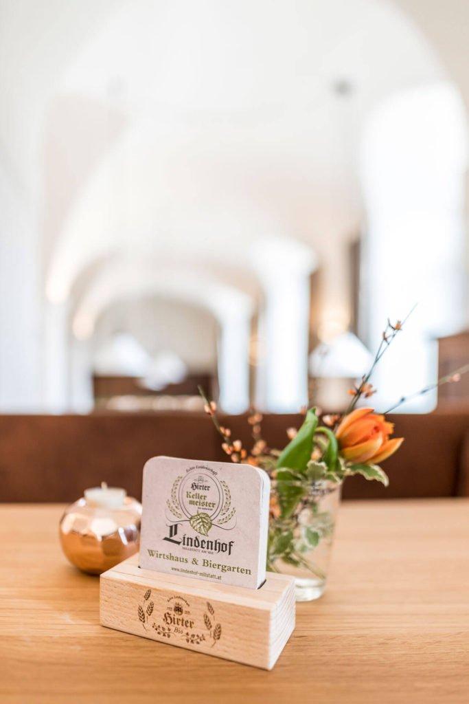 Lindenhof Millstatt am See - Wirtshaus Biergarten (© Gert Perauer)
